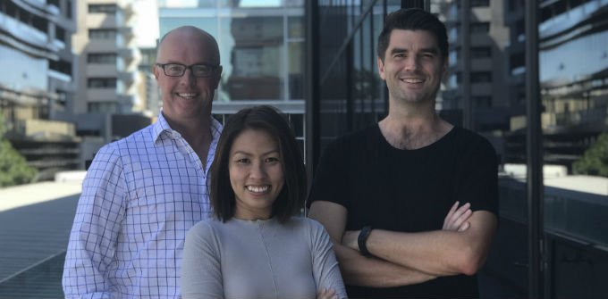 Brad Gurrie CEO, Dr Clara Ong Founder, Damian Hajda Founder